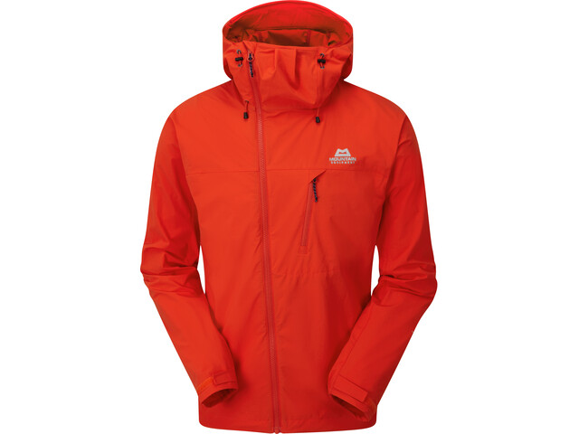 Mountain Equipment Squall Chaqueta Capucha Hombre, cardinal orange